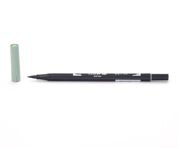 Tombow Dual Brush Pen - Holly Green - Tannengrün