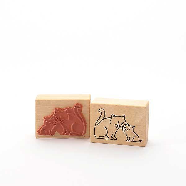 Motivstempel Titel: Schmusekatzen