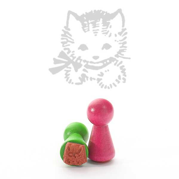 Motivstempel Titel: Ministempel Katze
