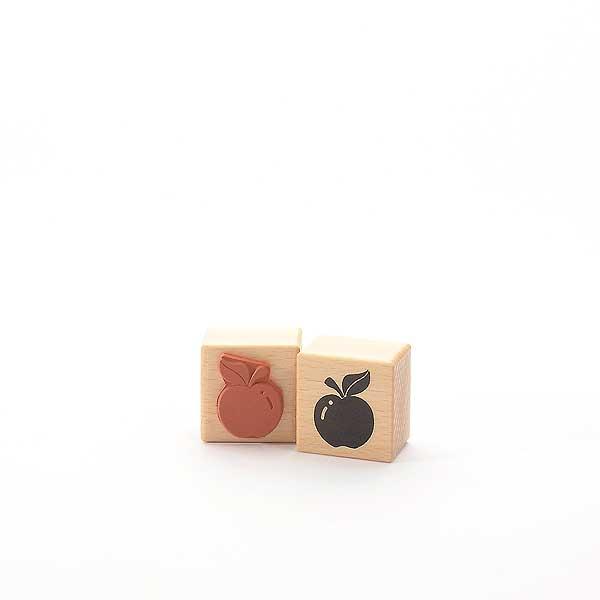 Motivstempel Titel: Apfel