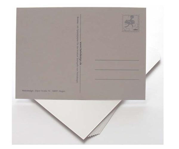 Postkarten und Mini-Postkarten