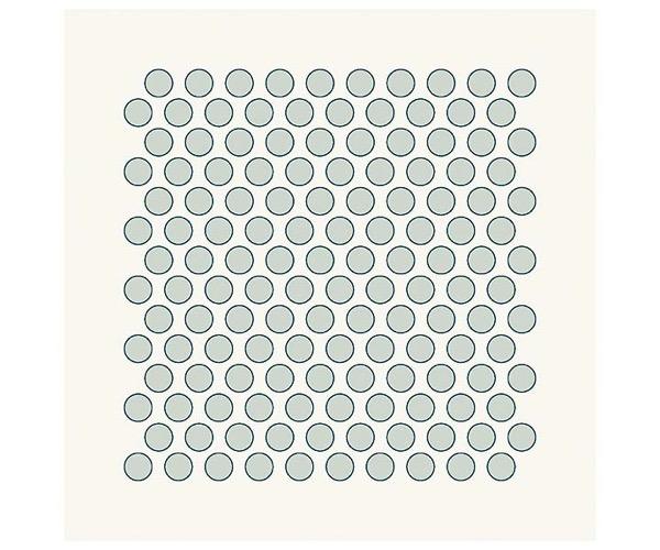 Grafische Schablonen - Viele viele Punkte