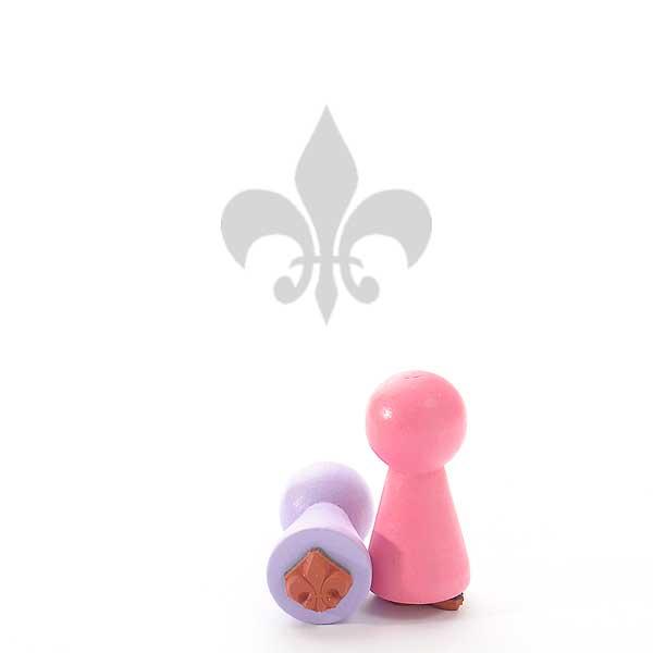 Motivstempel Titel: Ministempel Lilie