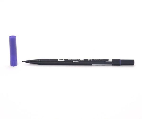 Tombow Dual Brush Pen - Violet - Violett
