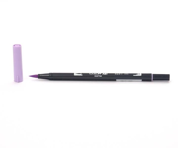 Tombow Dual Brush Pen - Purple Sage - Sage Violett