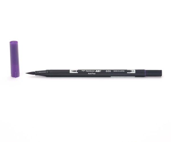 Tombow Dual Brush Pen - Imperial Purple - Kaiserviolett
