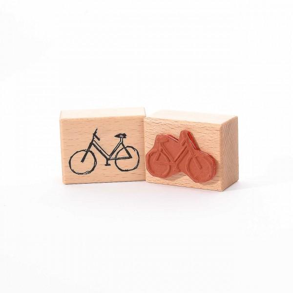 Motivstempel Titel: Fahrrad skizziert