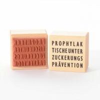 Motivstempel Titel: Prophylaktischeunterzuckerungsprävention