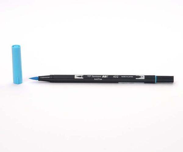 Tombow Dual Brush Pen - Process Blue - Prozeßfarbe Blau