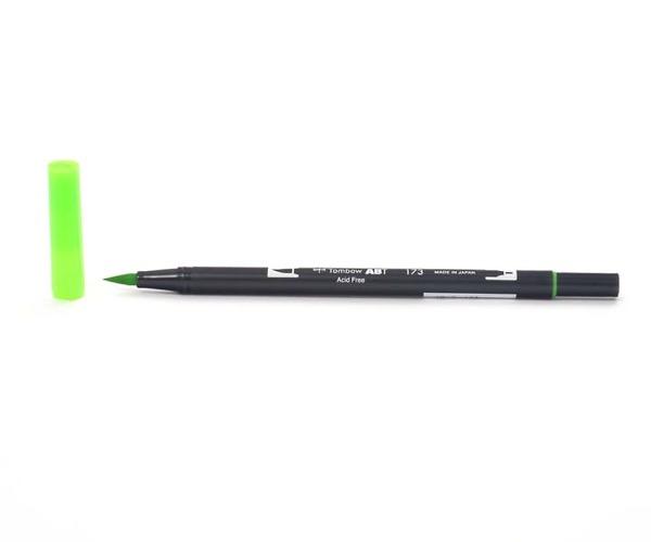 Tombow Dual Brush Pen - Willow Green - Weiden Grün