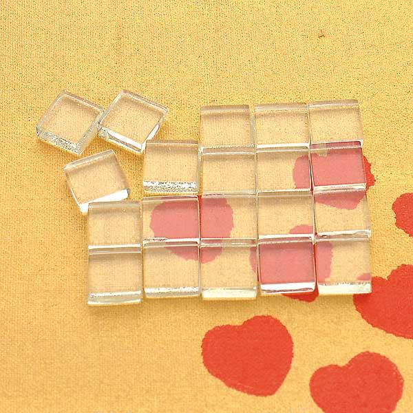 Mosaiksteine quadrat klein