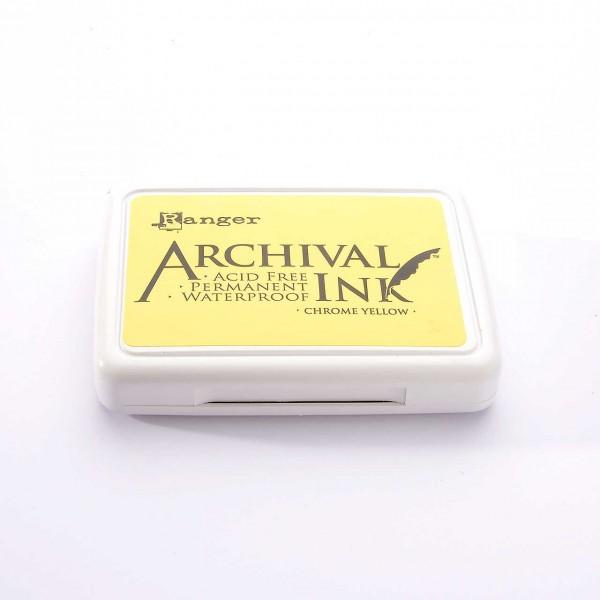 Ranger Archival Ink - Chrome Yellow · Gelb