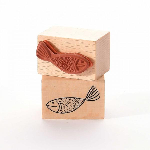 Motivstempel Titel: Kleiner Fisch II