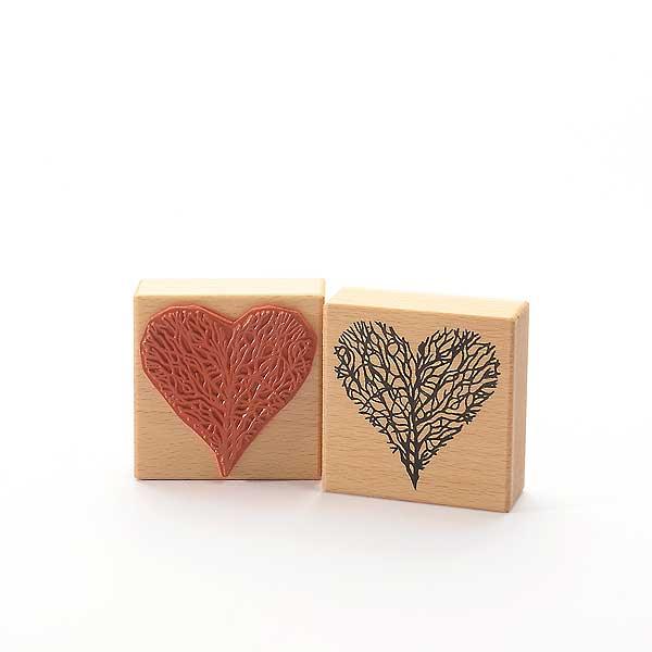 Motivstempel Titel: Baum oder Herz